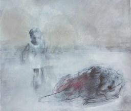 Lei, 2016, cm 18х24, olio su carta