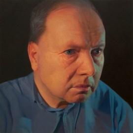 Gottfried, 2015, cm40x40, olio su tela