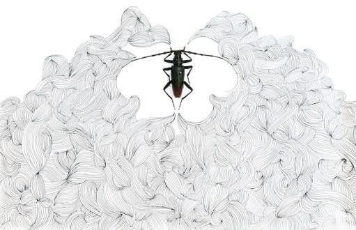 Chi conosce l'invisibile, 2014, cm 39x26x6, mixed media