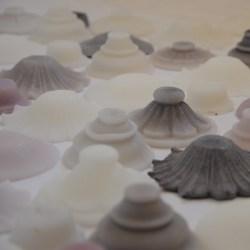 Giardino, 2015, misure variabili, cera, pigmento