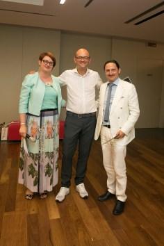 Livia Savorelli, Diego Santamaria, Roberto Berné
