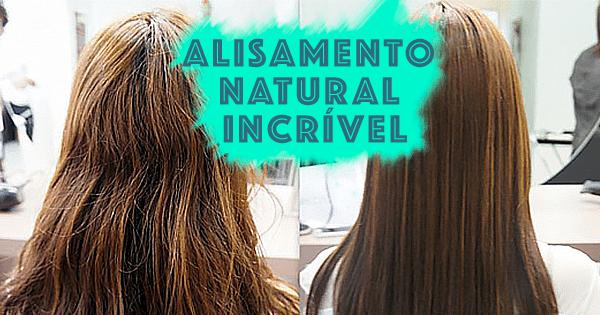 Alisamento natural: uma receita caseira com resultados ótimos!