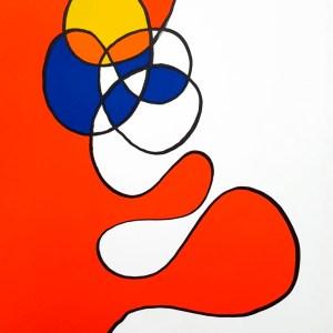 Calder Lithograph DM53173, Derriere le Miroir 1968
