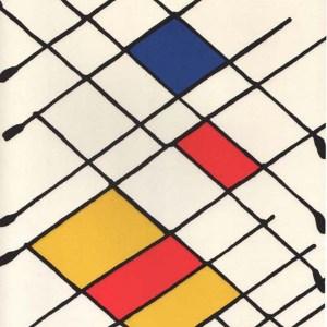 Calder lithograph from derriere le miroir