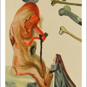 Salvador Dali Woodcut, Fraudulent ones - Hell 18