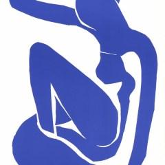 """Henri Matisse """"Nu bleu 1"""" printed in 1983"""