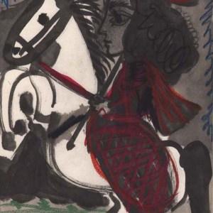 Pablo Picasso Toros y Toreros 2 dated 12/3/59