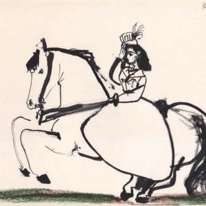 Pablo Picasso, Toros y Toreros 9 dated 10/3/59