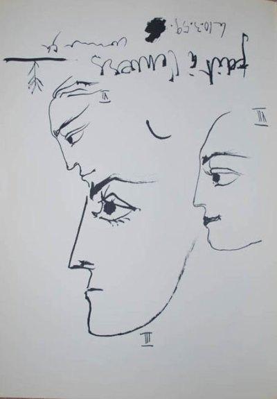 Picasso Toros y toreros 3-6-7 dated 10/3/59