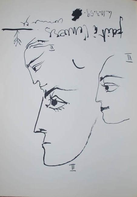 Picasso Toros Y Toreros, No. 3-6-7 dated 10/3/59