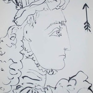 Picasso Toros y toreros 1 dated 10/3/59