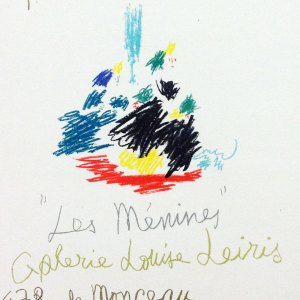 Picasso Lithograph 101, Les menines, Art in posters