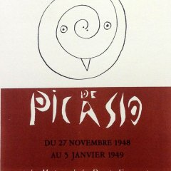 """Picasso 59 Lithograph """"Poteries """" 1959 Mourlot Art in posters"""