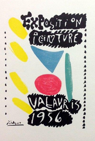 "Picasso 81 ""exposition-de-peinture-vallauris-1956"" printed 1959 Mourlot"