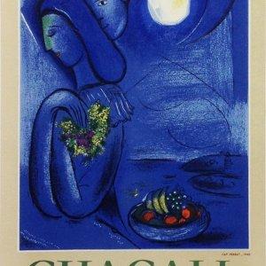 Chagall Lithograph 17, Ville de Nice, Art in Posters