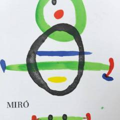 Miro Lithograph cover DM 01169 printed 1967