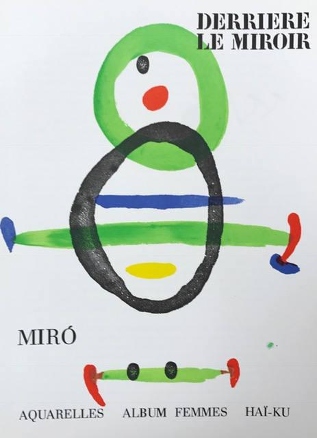 Book Derriere le Miroir 169, contains 2 Lithographs by Miro 1967