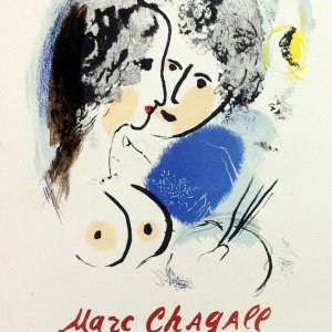 Chagall Lithograph 26, Chagall oeuvre, Art in posters