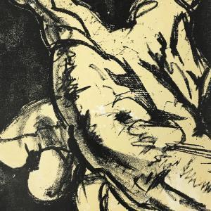 Dali Original Lithograph La Main 1967