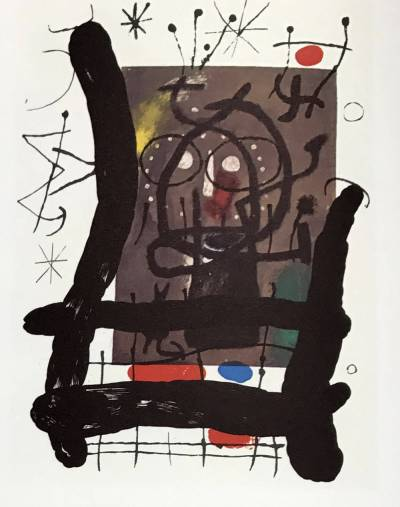 "Joan Miro Original Lithograph ""DM10151"" 1970"