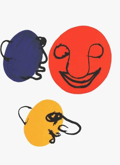 Alexander Calder, Original Lithograph, DM18221, Derriere le Miroir 1976