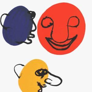 Calder, Original Lithograph, DM18221, Derriere le Miroir 1976