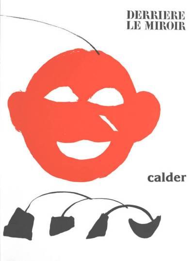 """Calder Original Lithograph """"DM23221"""" 1963"""