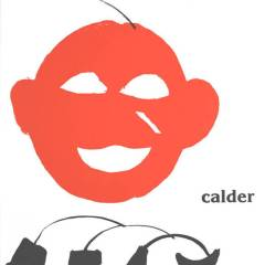 "Calder Original Lithograph ""DM23221"" 1963"