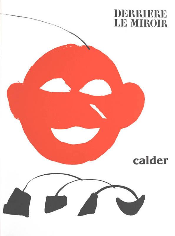 Alexander Calder, Original Lithograph DM23221, Derriere le Miroir 1976