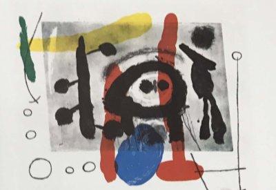 """Joan Miro Original Lithograph """"DM21151"""" printed 1970"""
