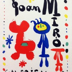 "Miro 49 ""Maeght Gallery 1949"" Art in posters 1959"