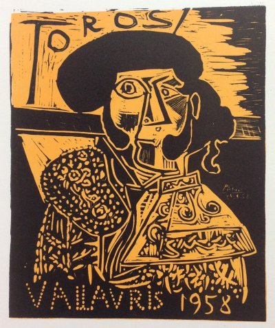 Picasso 94 Lithograph 1959 Mourlot Art in posters