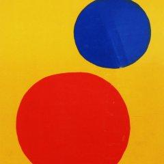 """Calder """" DM45201"""" Original Lithograph 1973"""