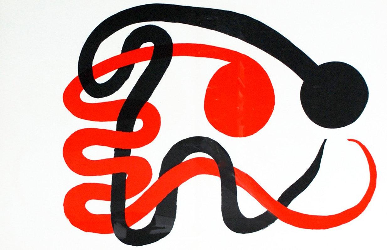 Alexander Calder, Original Lithograph, DM49201d, Derriere le Miroir 1973