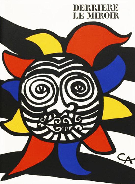 Alexander Calder, original Lithograph, DM37156, 1966 Derriere le Miroir