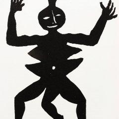 Alexander Calder, Original Lithograph, DM07212, Derriere le Miroir 1975