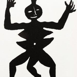 Calder, Original Lithograph, DM07212, Derriere le Miroir 1975