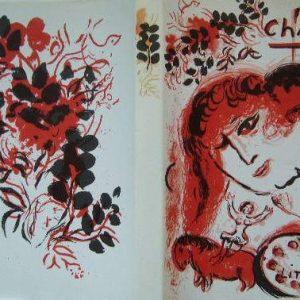 Book Chagall Lithographs vol 3, Contains 2 Lithographs 1969