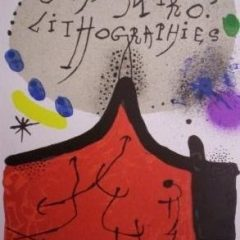 Joan Miro Original Lithographs Vol 1 Cover