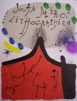 Joan Miro Original Lithographs Vol 1 Cover