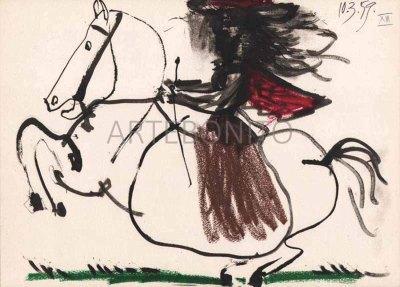 "Picasso Toros y toreros N.13 dated 10/3/59""-1961"