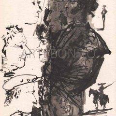 Picasso Toros Y Toreros No. 5 dated 12/7/59