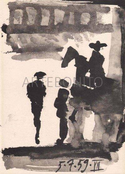 PicassoToros y toreros 7 dated 5/7/59