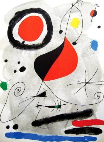 Joan Miro, Original Lithograph, DM04148, Mourlot 1964