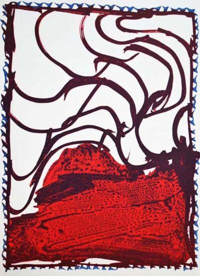 Alechinsky lithograph