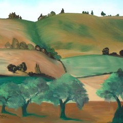 "Absi Grace, ""California hills"""