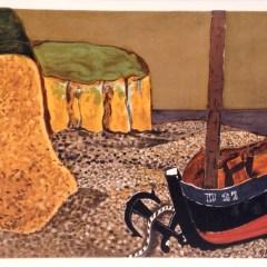 "Georges Braque ""La Barque D27"" Lithograph  printed 1968"