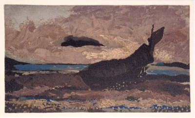 """Braque """"La Barque echouee"""" Lithograph 1968"""
