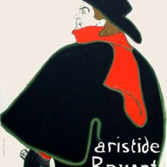 Toulouse Lautrec  Lithograph 10, Aristide Bruant,  , Post-Impressionism,