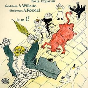 Toulouse Lautrec Lithograph 26, La vache enragee
